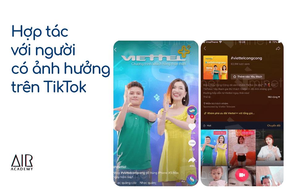 chiến thuật tiếp thị TikTok